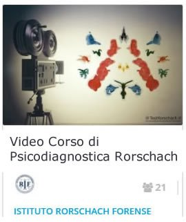 Video Corso Psicodiagnostica Rorschach