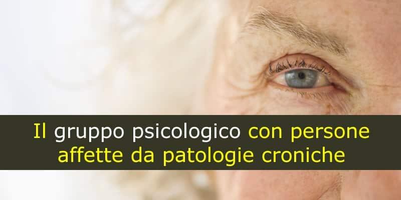 Il gruppo psicologico con persone affette da patologie croniche