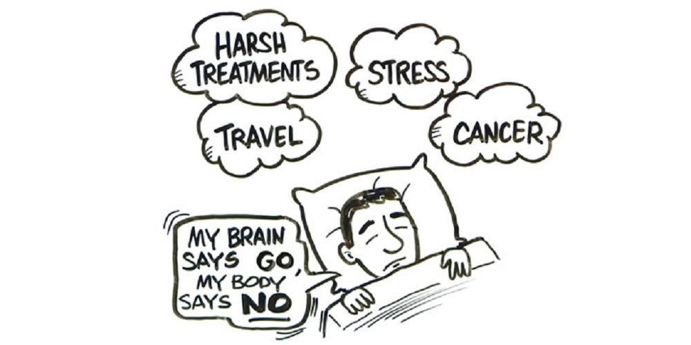 psicoterapia affaticamento tumore correlato
