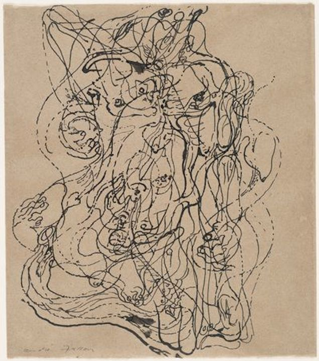 "André Masson's ""Automatic Drawing"" (1924)"