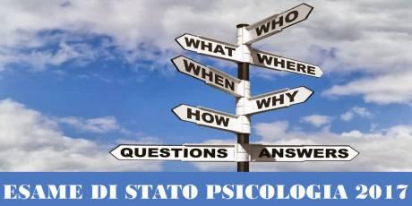 esame di stato psicologia 2017