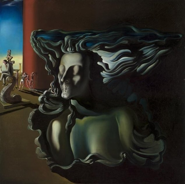 """The Dream"" by Salvador Dalí (1931)."