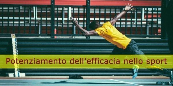 Strategie di potenziamento dell'efficacia nello sport