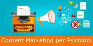 Content Marketing per Psicologi