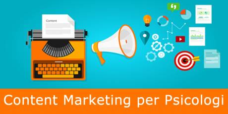 Content Marketing per Psicologi