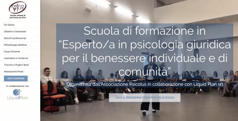 """Scuola di formazione in """"Esperto/a in psicologia giuridica per il benessere individuale e di comunità"""""""