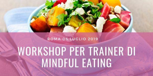 Workshop trainer Mindful Eating
