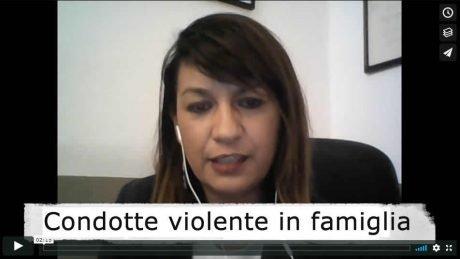 Condotte e dinamiche violente in ambito familiare